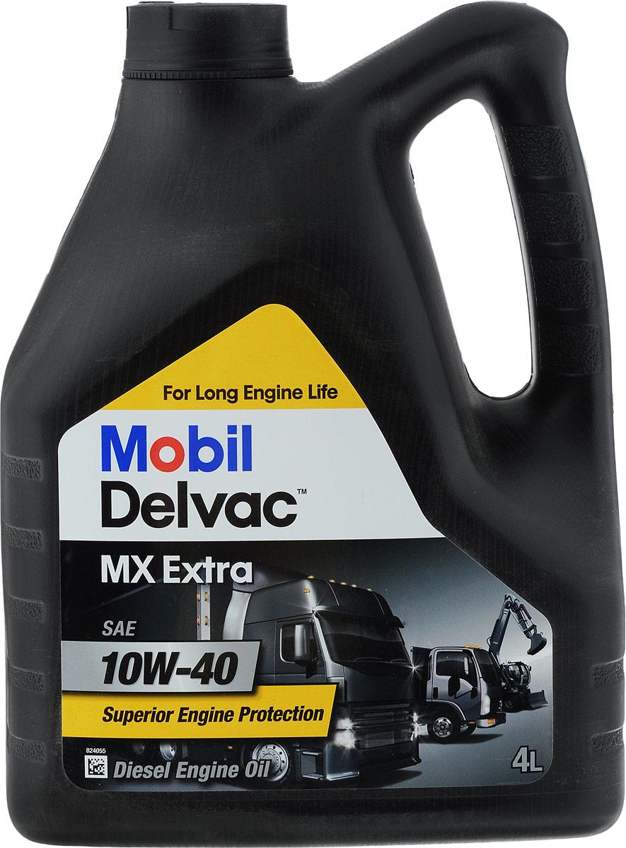 Масло моторное Mobil MX Extra, класс вязкости 10W-40, 4 л150432Mobil MX Extra - моторное масло с очень высокими эксплуатационными свойствами, обеспечивающее отличное смазывание, поддержание чистоты деталей и, соответственно, продление срока службы современных дизельных и бензиновых двигателей, работающих в тяжелых условиях. Как результат, это масло рекомендуется компанией ExxonMobil для двигателей европейских, японских и американских производителей. Mobil MX Extra разработано с применением смеси базовых масел, произведенных при помощи передовой технологии, и сбалансированной системы присадок для достижения требуемой окислительной стабильности, диспергирующих и противоизносных свойств, которые дополняются превосходной способностью снижать образование отложений на поршнях и уменьшать шламообразование, что содействует увеличению срока службы двигателя. Превосходные вязкостно-температурные характеристики этого всесезонного масла гарантируют его отличные пусковые свойства и прокачиваемость при низкой температуре. Товар сертифицирован.