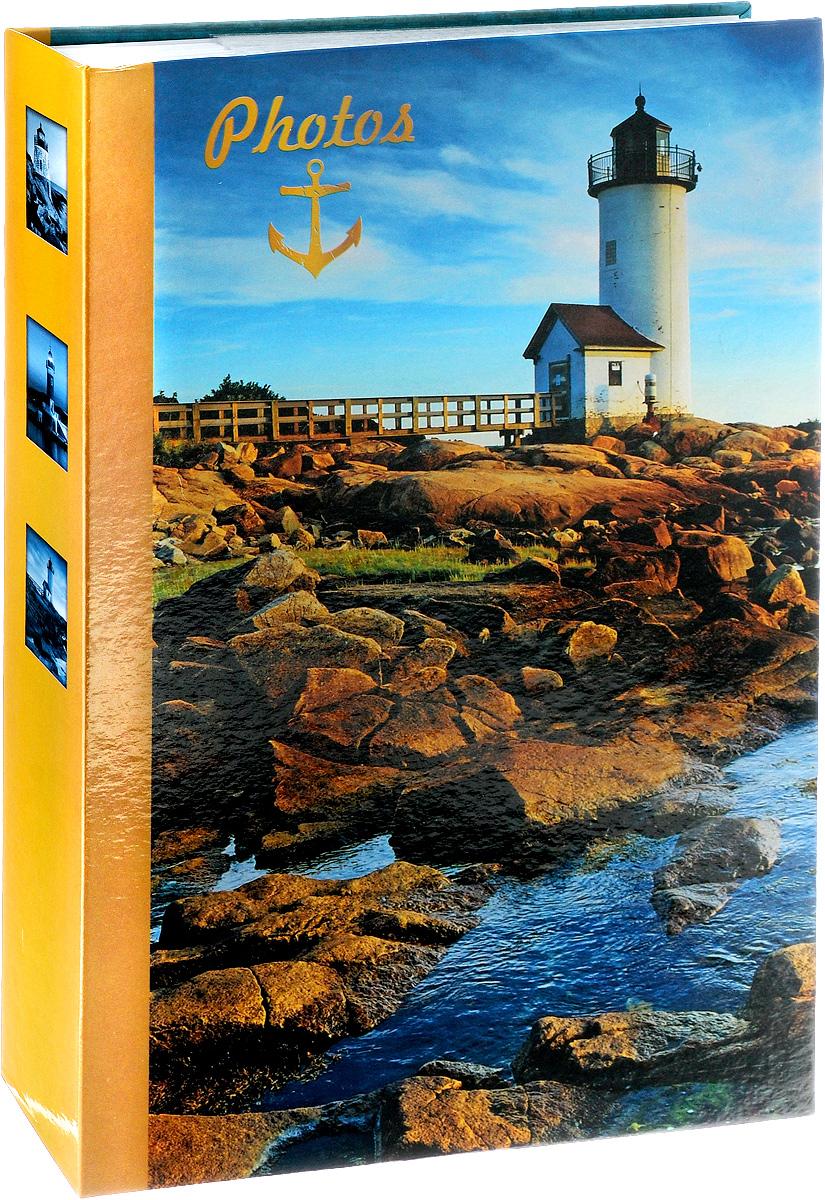 "Фотоальбом Pioneer ""Lighthouse"", 300 фотографий, цвет: синий, 10 x 15 см 46372 LM-4R300CPPM/C"