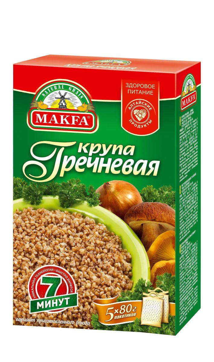 Makfa гречневая ядрица, 400 г100-4