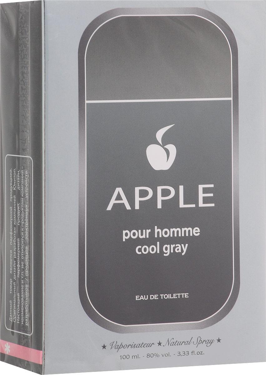 Apple Parfums Homme Cool Gray. Туалетная вода, 100 мл41115Аромат Apple Homme Cool Gray предназначен для зрелого мужчины, искушенного, умудренного опытом, знающего, что время бесценно. Каждый его поступок, каждое движение пронизаны безупречным стилем. Стиль и элегантность для него не самоцель, а средство выражения жизненной позиции, которая одновременно и проста, и провокационна. Классификация аромата : древесный, цитрусовый. Пирамида аромата : Основные ноты: бергамот, грейпфрут, слива, яблоко, кардамон, папоротник. Характеристики: Объем: 100 мл. Производитель: Франция. Туалетная вода - один из самых популярных видов парфюмерной продукции. Туалетная вода содержит 4-10% парфюмерного экстракта. Главные достоинства данного типа продукции заключаются в доступной цене, разнообразии форматов (как правило, 30, 50, 75, 100 мл), удобстве использования (чаще всего - спрей). Идеальна для дневного использования. Товар...