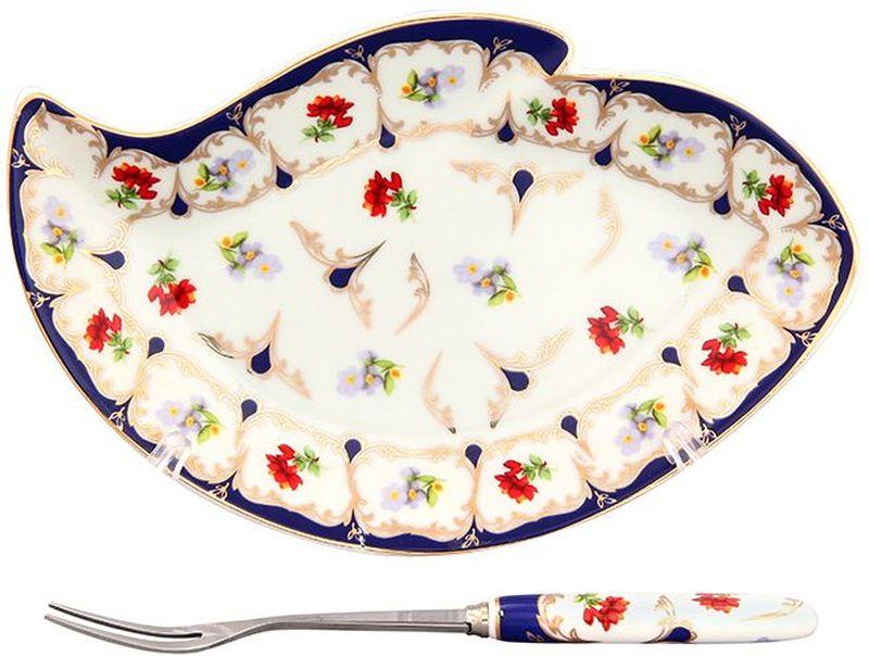 Тарелка под лимон Elan Gallery Цветочек, с вилкой, 17 х 11 х 2 см503569Изящное блюдо для нарезанных долек лимона с вилочкой для удобства. Подойдет для сервировки любой нарезки. Изделие имеет подарочную упаковку, поэтому станет желанным подарком для Ваших близких!