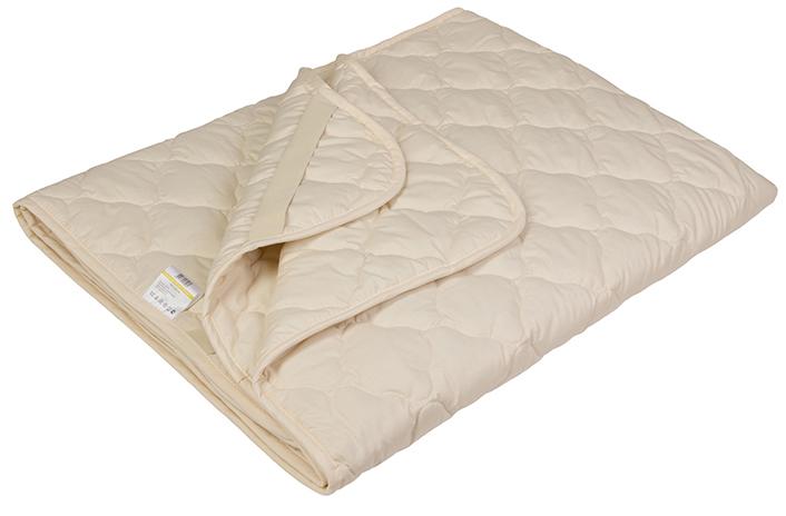 Наматрасник Ecotex Овечка-Комфорт, наполнитель: овечья шерсть, цвет: светло-бежевый, 180 х 200 смНОК18- сухое и здоровое тепло: создает комфортный микроклимат во время сна в любое время года; - долговечность и экологичность; - комфорт: антистатичность, мягкость, легкость и объем.