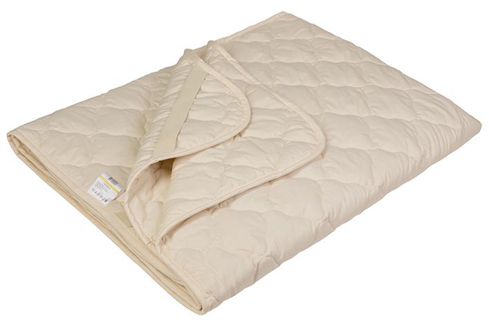 Наматрасник Ecotex Овечка-Комфорт, наполнитель: овечья шерсть, цвет: светло-бежевый, 200 х 200 смНОК20- сухое и здоровое тепло: создает комфортный микроклимат во время сна в любое время года; - долговечность и экологичность; - комфорт: антистатичность, мягкость, легкость и объем.