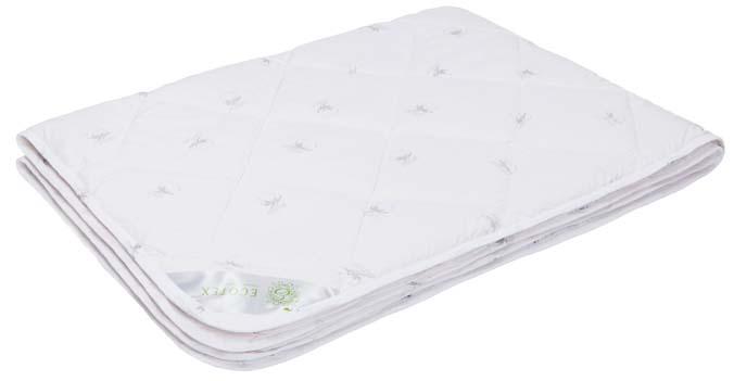 Одеяло Ecotex Коттон, наполнитель: хлопок, цвет: белый, 172 х 205 смОК2- комфортный микроклимат во время сна: отличная терморегуляция; - гигроскопичность и высокая воздухопроницаемость; - экологичность; - антистатичность; - долговечность.