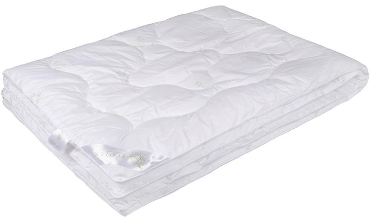 Одеяло Ecotex Бамбук-Премиум, облегченное, наполнитель: бамбуковое волокно, цвет: белый, 172 х 205 смООБ2- экологически чистый природный материал; - не вызывает раздражения; - ощущение свежести: регулирует влажность и теплообмен; - долговечность: сохраняет свои первоначальные свойства и форму после многократной эксплуатации.