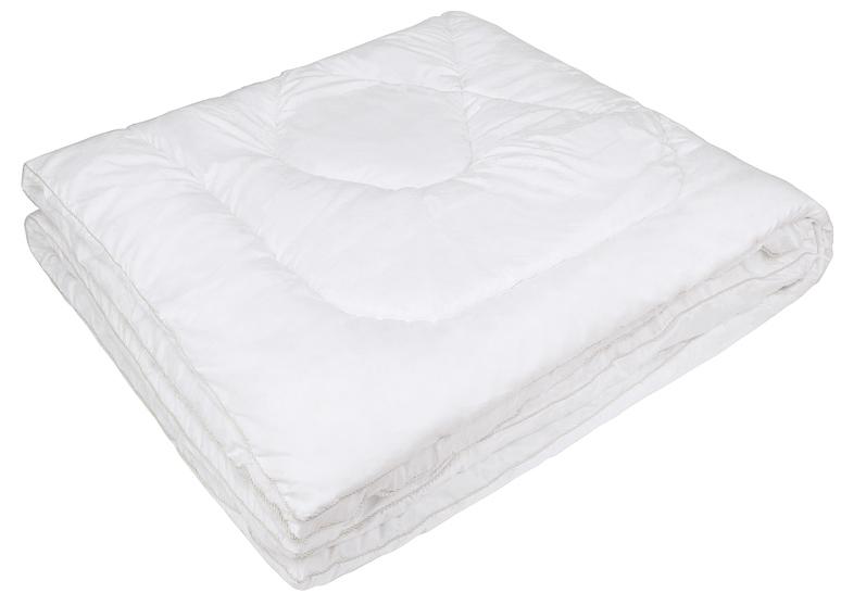 Одеяло Ecotex Файбер-Комфорт, цвет: белый, 200 х 220 смS03301004- экологичность;- гигиеничность: не впитывает запахи и пыль;- теплоизоляция и воздухопроницаемость;- долговечность: в течение долгого времени сохраняет объем и упругость;- легкость в уходе: легко стирается, быстро сохнет.