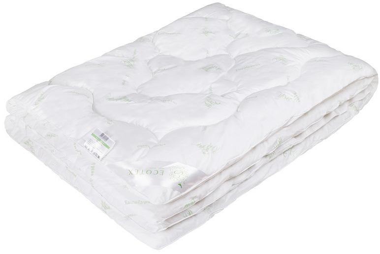 Одеяло Ecotex Эвкалипт, наполнитель: синтепух, цвет: белый, 172 х 205 смОЭК2- экологичность; - комфортный сон: обеспечивает прекрасный теплообмен, не поглощает посторонние запахи; - гигиеничность: высокая антибактериальная защита; - благотворное воздействие на кожу; - антистресс-эффект; - сочетание мягкости и объемности.