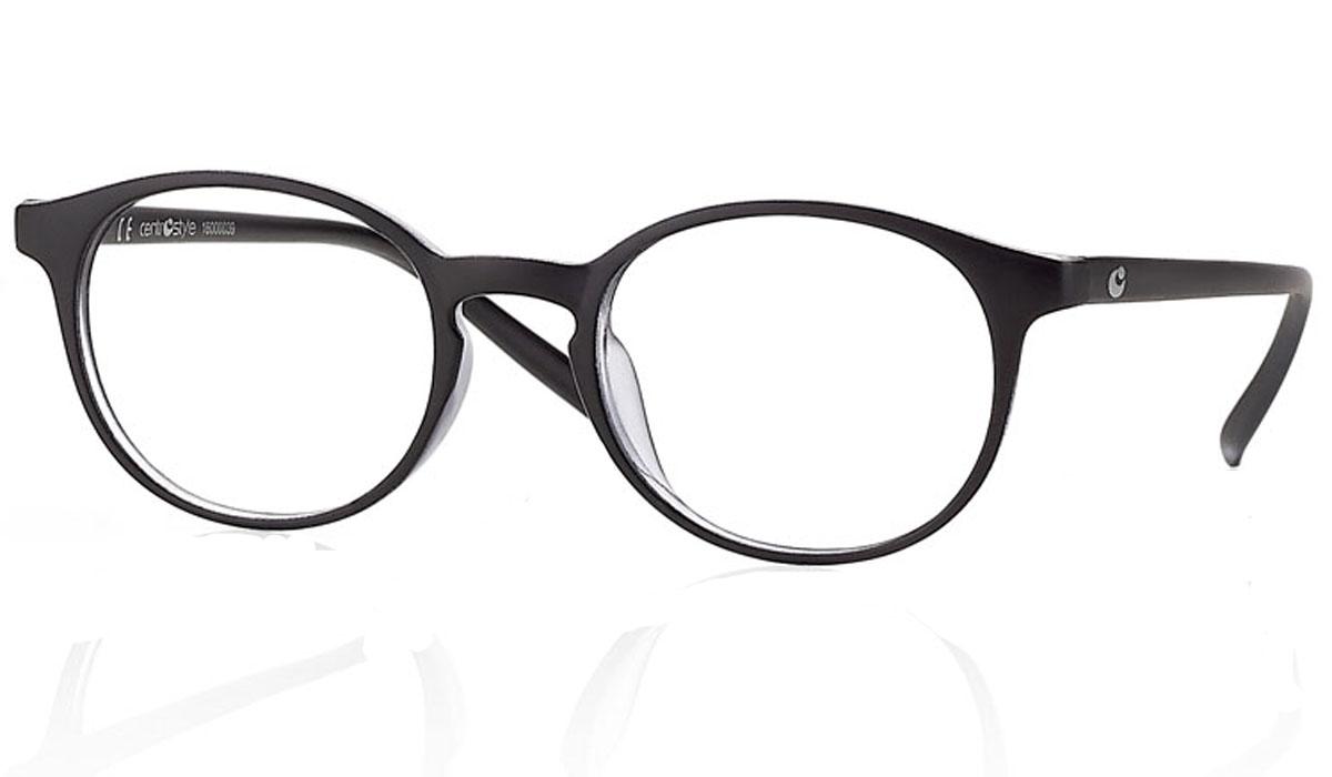 CentroStyle Очки для чтения +1.00, цвет: черный60820Готовые очки для чтения - это очки с плюсовыми диоптриями, предназначенные для комфортного чтения для людей с пониженной эластичностью хрусталика. Очки итальянской марки Centrostyle - это модные и незаменимые в повседневной жизни аксессуары. Более чем двадцати летний опыт дизайнеров компании CentroStyle гарантирует комфорт и качество.