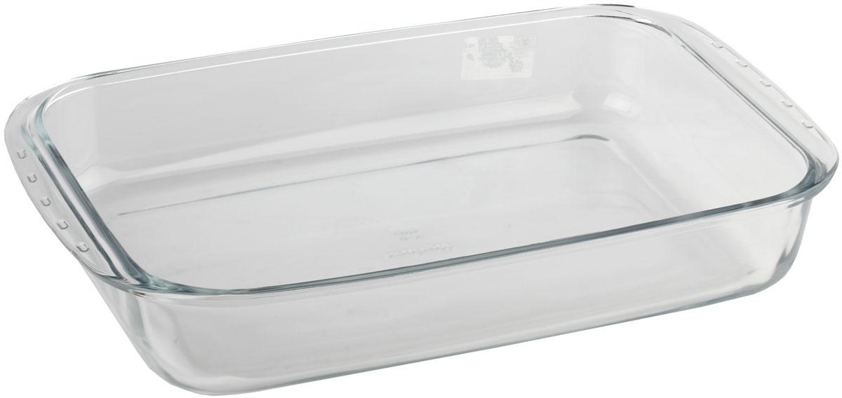 Форма для запекания Marinex, прямоугольная. M165370-1M165370-1Стеклянная форма для запекания жаропрочная Marinex подходит для использования в духовках, микроволновых печах, холодильных и морозильных камерах, посудомоечных машинах.