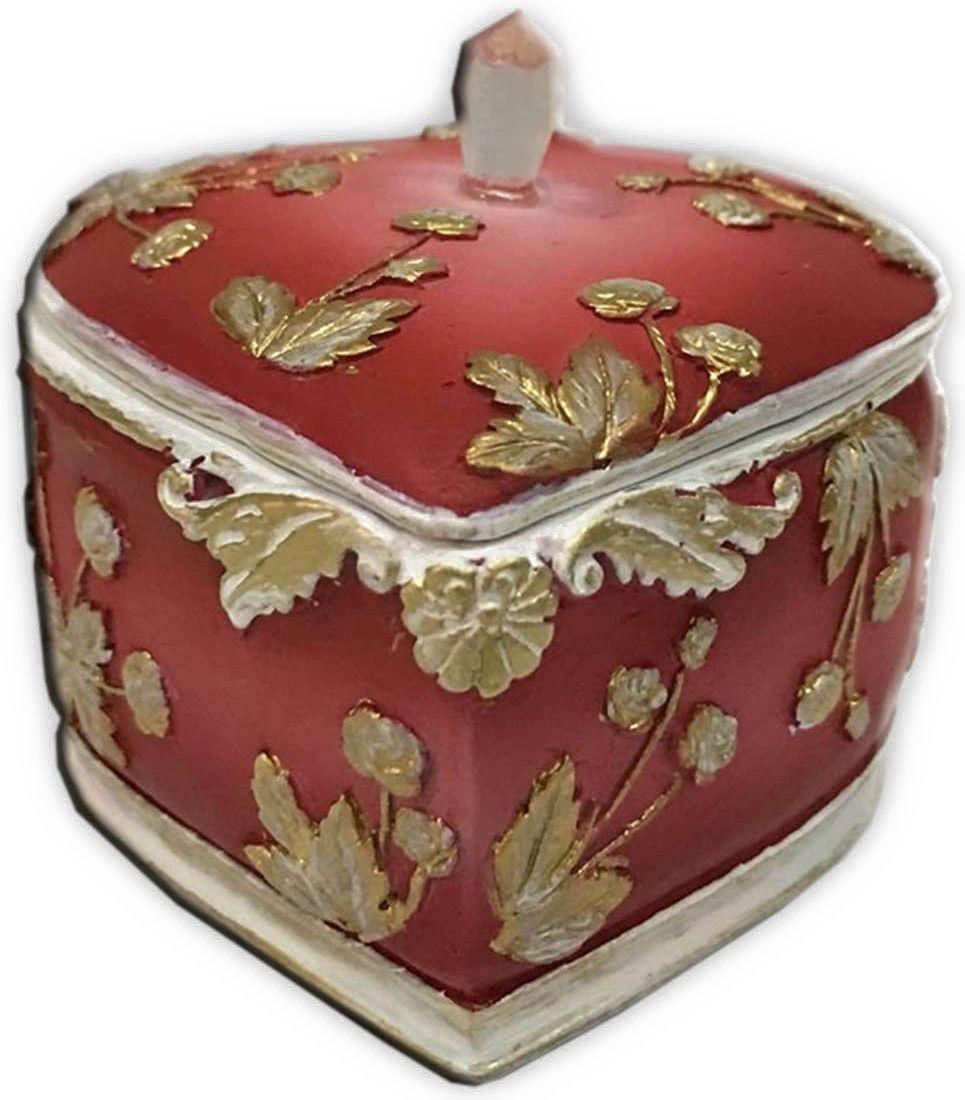 Шкатулка декоративная Magic Home, цвет: оранжевый, 7 х 7 х 6 см44573Шкатулка декоративная Терракотовая (полирезины). Такая шкатулка не оставит равнодушным ни одного любителя красивых вещей. Шкатулка может использоваться для хранения бижутерии, в качестве украшения интерьера, а также послужит хорошим подарком для человека, ценящего практичные и оригинальные вещи.