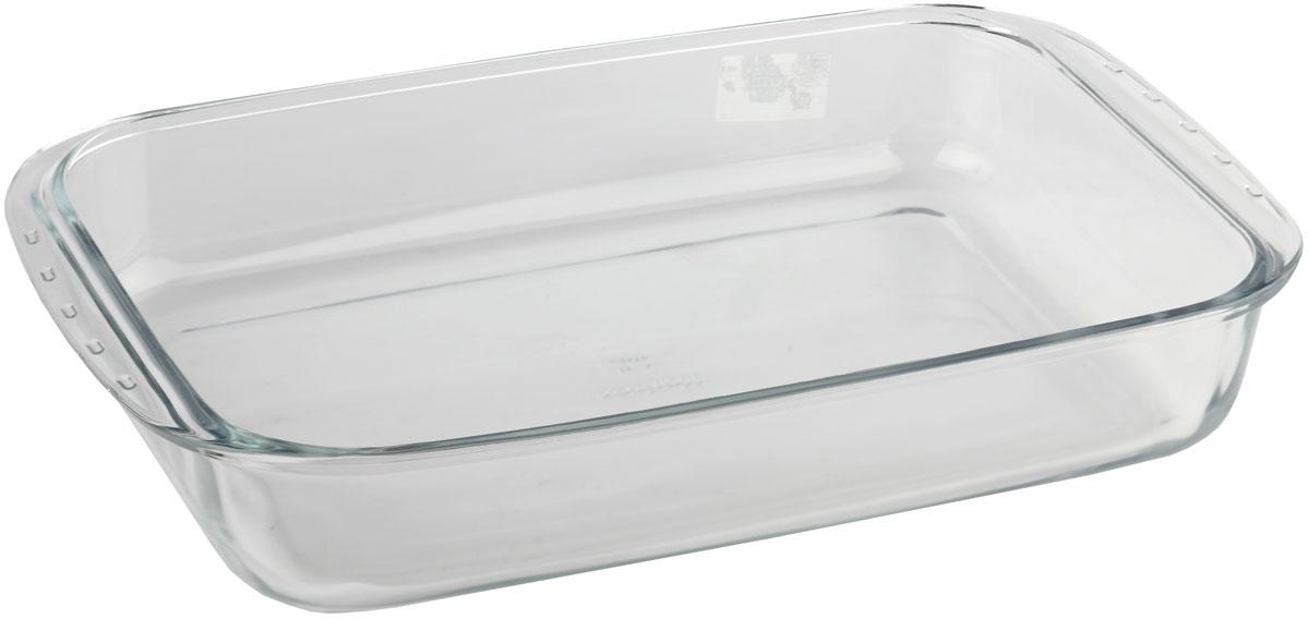 Форма для запекания Marinex, прямоугольная. MC165389MC165389Стеклянная форма для запекания жаропрочная Marinex подходит для использования в духовках, микроволновых печах, холодильных и морозильных камерах, посудомоечных машинах.