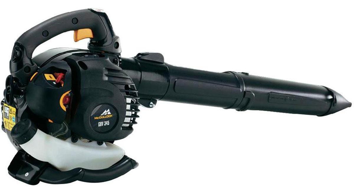 Воздуходув-пылесос McCulloch GBV345, механическая, цилиндрическая
