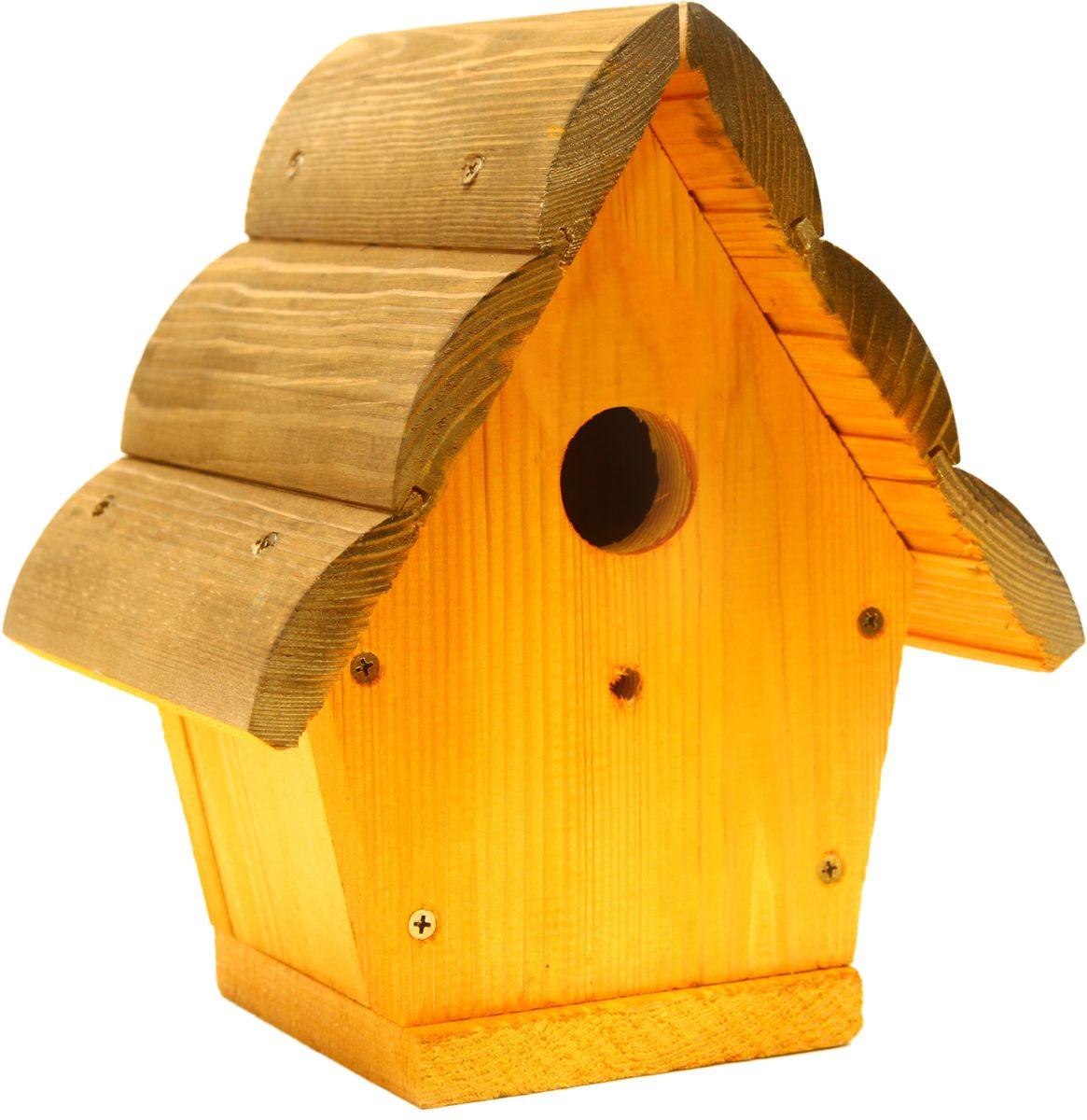 Домик для птиц Proffi. PH8475PH8475Габариты (мм) ДхШхВ: 246 х 180 х 325 мм. Вес (кг): 2,4 кг. Материал: Сосна. Цвет: Орегончерешня.