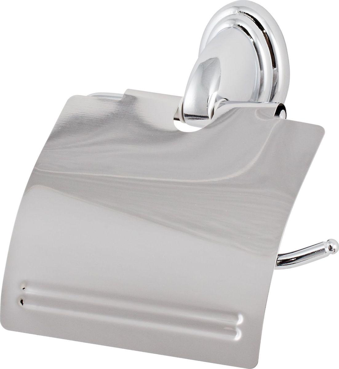 Держатель туалетной бумаги Del Mare 3100, цвет: хромBA900Держатель туалетной бумаги Del Mare 3100 — практичный аксессуар для санузла, выполненного в современном стиле. Этот небольшой, но важный предмет интерьера поможет создать эргономичное пространство даже в компактном помещении. Держатель прекрасно гармонирует с любой расцветкой ванной комнаты. Хромированная поверхность изделия создает зеркальный эффект, подчеркивая оформление ванной комнаты.