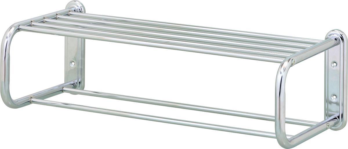 Полка-полотенцедержатель Swensa, цвет: хром, 53 смSWFL-25Полка-полотенцедержатель подходит для хранения банных принадлежностей.