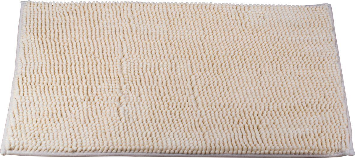 Коврик для ванной Swensa, цвет: ванильный, 45 х 70 смSWM-3003VN-BКоврик выполнен из полиэстера – современного и очень нежного на ощупь материала, обладающего рядом полезных свойств. Он не мнется, не теряет форму и легко чистится без специальной подготовки. Полиэстер не пропускает воду и быстро высыхает. При должном уходе он будет дарить уют и комфорт многие годы, не теряя отличного внешнего вида.