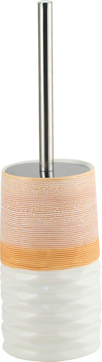 Ершик для унитаза Swensa Аттика, напольный, цвет: бежевыйSWTK-2600EНапольный туалетный ерш Аттика - элегантный и удобный в использовании аксессуар для туалетной комнаты. Жесткая щетина эффективно удаляет загрязнения, легко очищается под струей воды, длинная ручка облегчает пользование изделием. Для хранения ерша предусмотрена стильная трехцветная керамическая подставка, которая эффектно дополнит как классический, так и современный дизайн санузла.