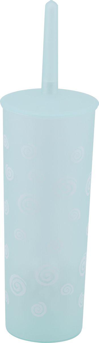 Ершик для унитаза Swensa Спираль, напольный, цвет: зеленыйSWTP-0002GЕрш напольный Спираль, изготовленный из пластика, отлично подойдет для вашей ванной и туалетной комнат. В коллекции 4 предмета.