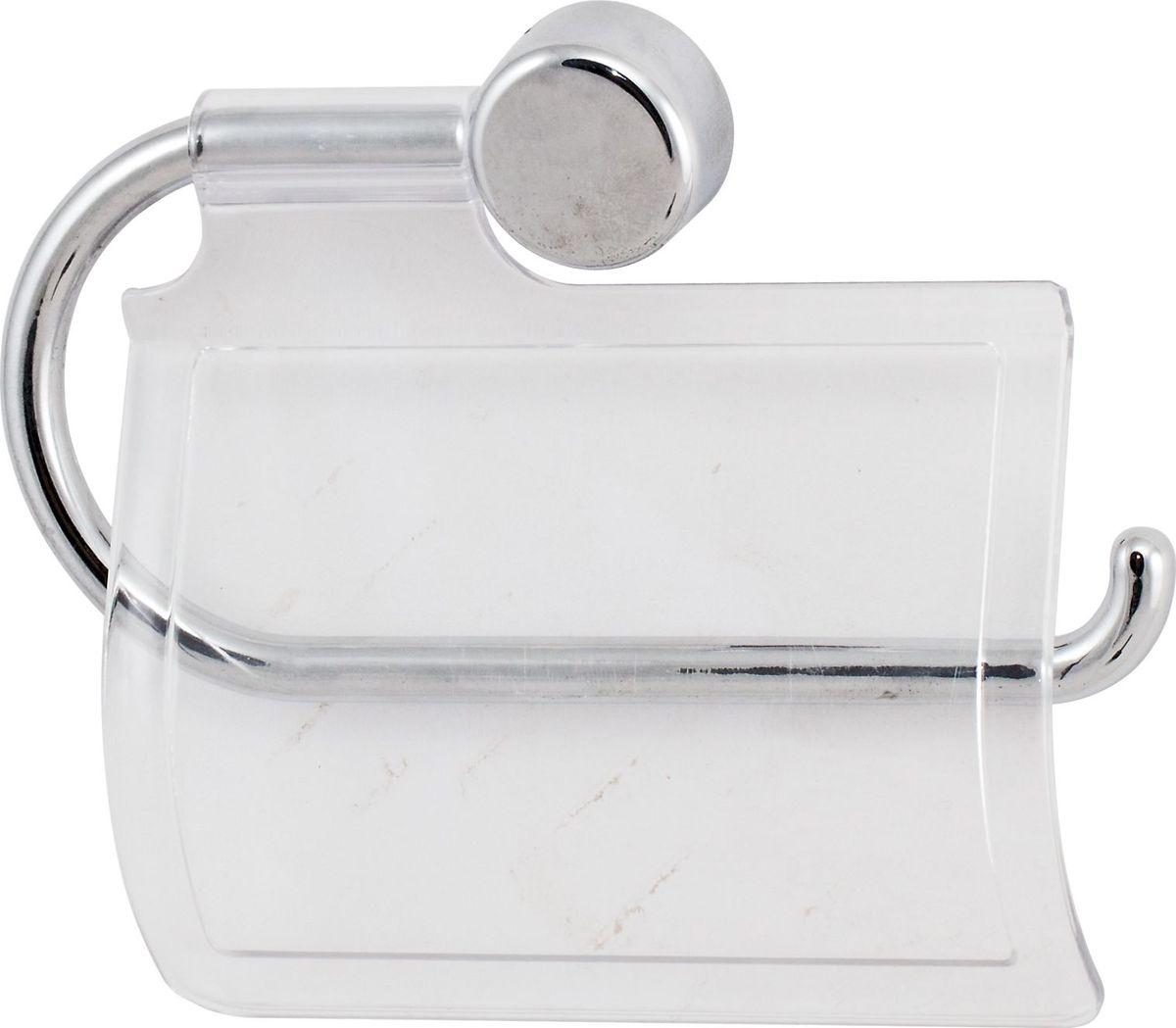 Держатель туалетной бумаги Del Mare Y, с крышкой, цвет: хромY014Держатель для туалетной бумаги выполнен из металлизированного пластик. Оптимальное соотношение цена -качество.