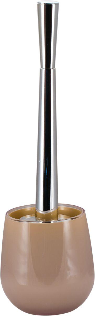 Ершик для унитаза Swensa Рондо, с подставкой, цвет: бежевыйUP210DFЕрш для унитаза Swensa Рондо поможет в уборке и поддержании чистоты в санузлах и туалетных комнатах. Отличительная особенность представленной модели – различные вариации расцветки. Это позволяет подобрать наиболее подходящий к дизайну интерьера аксессуар. Представленное изделие оснащено подставкой из акрила, которая является прочным и надежным материалом, обеспечивающим долговечность и защиту от нежелательных повреждений. Ерш для унитаза станет незаменимым элементом в оснащении туалетной комнаты.