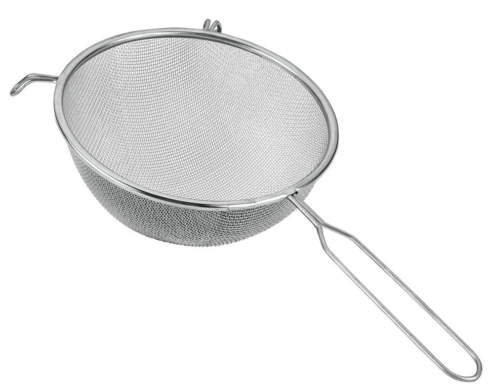 Сито Metaltex, диаметр 20 см11.06.20Сито, выполненное из высококачественной стали и алюминиевого сплава, станет незаменимым аксессуаром на Вашей кухне. Оно предназначено для просеивания и процеживания. Конструкция ручки представляет собой петлю, с помощью которой сито можно подвесить в удобном для Вас месте. Такое сито станет достойным дополнением к кухонному инвентарю. Характеристики: Материал: сталь, алюминиевый сплав. Диаметр: 20 см. Длина ручки: 17 см. Изготовитель: Италия. Артикул: 11.06.20.