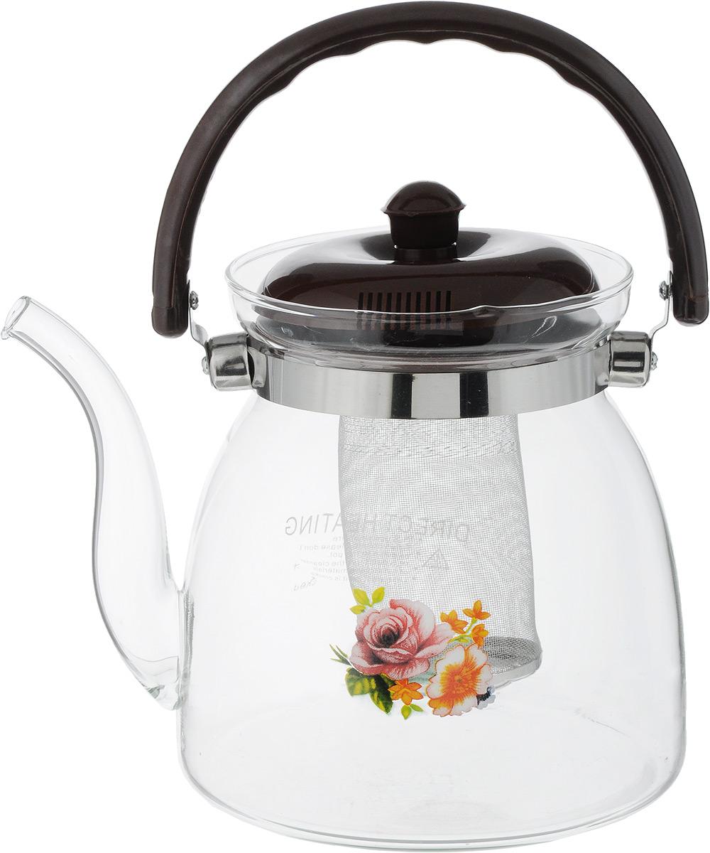 "Чайник заварочный Wellberg ""Borosil"", 2,2 л. 6855WB"