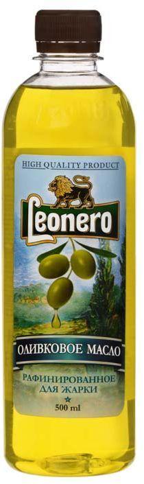 Leonero масло оливковое рафинированно для жарки Pomace, 500 мл0120710Испанское оливковое масло произведено по традиционной технологии из классических сортов оливок.