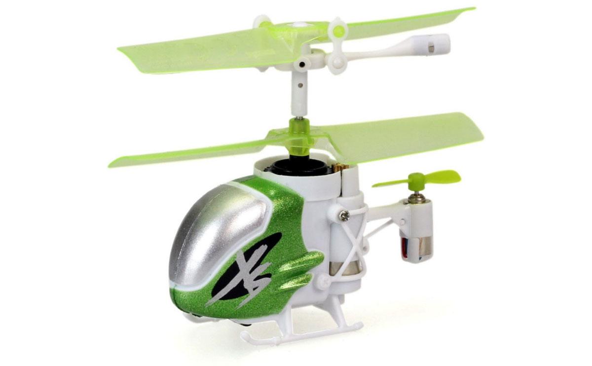 Silverlit Вертолет на инфракрасном управлении Nano Falcon XS цвет зеленый белый