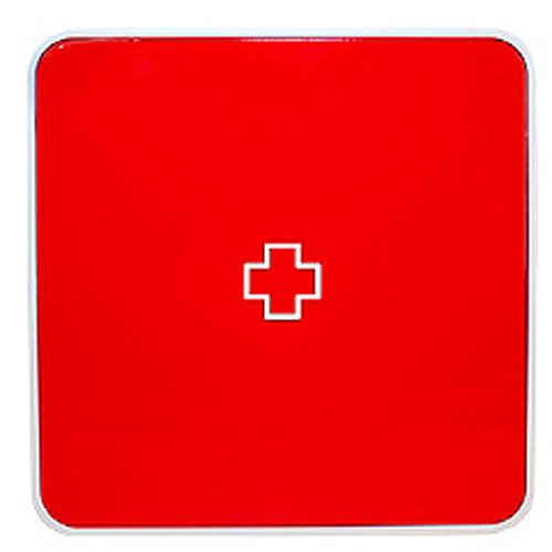 Подвесной органайзер для лекарств Byline, цвет: красный. 108.3252.55108.3252.55Настенная аптечка - изготовлена из прочного пластика высокого качества, позволяющего эксплуатировать изделие на протяжение весьма существенного периода. Уникальность аптечке придает матовая дверца яркого цвета с удобной ручкой.