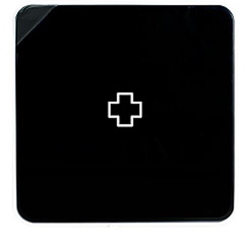 Подвесной органайзер для лекарств Byline, цвет: черный. 108.3252.52108.3252.52Настенная аптечка - изготовлена из прочного пластика высокого качества, позволяющего эксплуатировать изделие на протяжение весьма существенного периода. Уникальность аптечке придает матовая дверца яркого цвета с удобной ручкой.