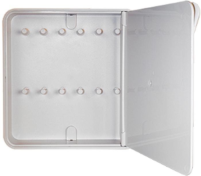 Ключница настенная Byline, цвет: белый. 108.3201.01108.3201.01Настенные ключницы - созданы как удобные органайзеры для хранения и контроля за комплектами ключей. Больше не надо думать, куда положить ключи от квартиры или дома, машины, почтового ящика, кладовки.