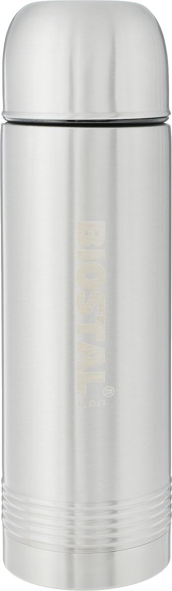 Термос Biostal Охота, цвет: стальной, 1 л. NYP-1000NYP-1000Термос с узким горлом Biostal Охота, изготовленный из высококачественной нержавеющей стали, относится к серии Охота. Термосы этой серии пользуются большой популярностью у любителей охоты и рыбалки, так как они, сохраняя прочность и термоустойчивость, легки и компактны. Термос предназначен для горячих и холодных напитков и укомплектован двумя пробками: пробка без клапана надежна, проста в использовании и позволяет дольше сохранять тепло, благодаря дополнительной теплоизоляции. Пробка с клапаном удобна в использовании и позволяет, не отвинчивая ее, а наливать напитки после простого нажатия. Изделие также оснащено крышкой-чашкой. Легкий и прочный термос Biostal Охота сохранит ваши напитки горячими или холодными надолго. Высота термоса (с учетом крышки): 30 см. Диаметр дна: 9 см. Диаметр крышки-чашки (по верхнему краю): 8 см.