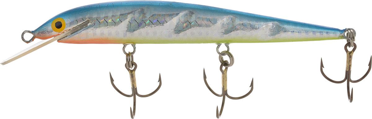 Воблер Blind Paroni, цвет: Bluetin, длина 13 см, вес 17 гPAR-13017Воблер BLIND PARONI, BLUETIN, 13 см применяется для ловли хищных видов рыб. Воблеры Blind серии Paroni 13 см BLUETIN изготовлены из качественного пластика и отличаются яркой расцветкой. Три тройника не дадут ускользнуть самой верткой рыбе. артикул PAR-13017 воблер BLIND PARONI Расцветка: BLUETIN Длина: 130 мм. Рабочая глубина: 3 м. Вес: 17 г. Производитель Blind