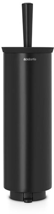 Туалетный ершик Brabantia, с держателем. 483349483349Туалетный ершик с держателем Brabantia 427169 крепится к стене с помощью прилагаемого кронштейна, благодаря чему не занимает место на полу и облегчает уборку в ванной комнате. Легко вынимается из настенного крепления для тщательной очистки стене позади держателя. Также может быть использован без кронштейна - на полу ванной комнаты. Нескользящее основание предотвращает скольжение по плитке. Благодаря особой форме щетки унитаз тщательно и легко чистится даже под ободком! Ершик снабжен крышкой, что придает аксессуару всегда аккуратный вид. Съемное внутреннее ведро легко чистится. Изготовлен из коррозионностойких материалов. Сочетается с другими аксессуарами Brabantia для ванной комнаты: настенным или напольным мусорными баками, держателем для туалетной бумаги, мыльницей, держателем для стаканов, полочкой для ванной комнаты, крючками и держателями для полотенца. Гарантия 10 лет.