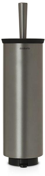 Туалетный ершик Brabantia, с держателем. 483301483301Туалетный ершик с держателем Brabantia 427169 крепится к стене с помощью прилагаемого кронштейна, благодаря чему не занимает место на полу и облегчает уборку в ванной комнате. Легко вынимается из настенного крепления для тщательной очистки стене позади держателя. Также может быть использован без кронштейна - на полу ванной комнаты. Нескользящее основание предотвращает скольжение по плитке. Благодаря особой форме щетки унитаз тщательно и легко чистится даже под ободком! Ершик снабжен крышкой, что придает аксессуару всегда аккуратный вид. Съемное внутреннее ведро легко чистится. Изготовлен из коррозионностойких материалов. Сочетается с другими аксессуарами Brabantia для ванной комнаты: настенным или напольным мусорными баками, держателем для туалетной бумаги, мыльницей, держателем для стаканов, полочкой для ванной комнаты, крючками и держателями для полотенца. Гарантия 10 лет.