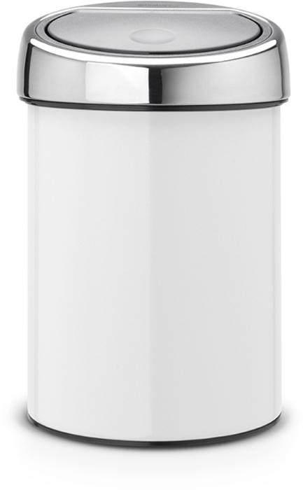 Ведро для мусора Brabantia Touch Bin, 3 л. 364488364488Ищите решение для рационального использования пространства в ванной комнате? Тогда компактный Touch Bin на 3л для Вас! Поставить на пол или прикрепить к стене – решать Вам! Бесшумное открывание/закрывание крышки легким касанием – система soft touch. Удобная смена мешков для мусора – съемная крышка из нержавеющей стали. Предусмотрено крепление к стене – бак поставляется в комплекте с настенным кронштейном из нержавеющей стали. Легко снимается с настенного кронштейна для тщательной очистки. Удобная очистка – прочное съемное внутреннее ведро из пластика. Предохранение пола от повреждений – пластиковый защитный обод. Бак изготовлен из коррозионно-стойких материалов – долговечность и удобство в очистке. Всегда опрятный вид – идеально подходящие по размеру мешки для мусора с завязками (размер A). 10-летняя гарантия Brabantia.