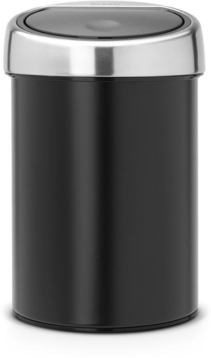 Ведро для мусора Brabantia Touch Bin, 3 л. 364440364440Ищите решение для рационального использования пространства в ванной комнате? Тогда компактный Touch Bin на 3л для Вас! Поставить на пол или прикрепить к стене – решать Вам! Бесшумное открывание/закрывание крышки легким касанием – система soft touch. Удобная смена мешков для мусора – съемная крышка из нержавеющей стали. Предусмотрено крепление к стене – бак поставляется в комплекте с настенным кронштейном из нержавеющей стали. Легко снимается с настенного кронштейна для тщательной очистки. Удобная очистка – прочное съемное внутреннее ведро из пластика. Предохранение пола от повреждений – пластиковый защитный обод. Бак изготовлен из коррозионно-стойких материалов – долговечность и удобство в очистке. Всегда опрятный вид – идеально подходящие по размеру мешки для мусора с завязками (размер A). 10-летняя гарантия Brabantia.