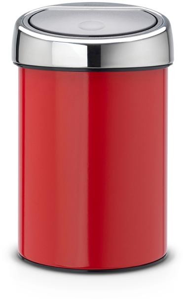 Ведро для мусора Brabantia Touch Bin, 3 л. 364426364426Ищите решение для рационального использования пространства в ванной комнате? Тогда компактный Touch Bin на 3л для Вас! Поставить на пол или прикрепить к стене – решать Вам! Бесшумное открывание/закрывание крышки легким касанием – система soft touch. Удобная смена мешков для мусора – съемная крышка из нержавеющей стали. Предусмотрено крепление к стене – бак поставляется в комплекте с настенным кронштейном из нержавеющей стали. Легко снимается с настенного кронштейна для тщательной очистки. Удобная очистка – прочное съемное внутреннее ведро из пластика. Предохранение пола от повреждений – пластиковый защитный обод. Бак изготовлен из коррозионно-стойких материалов – долговечность и удобство в очистке. Всегда опрятный вид – идеально подходящие по размеру мешки для мусора с завязками (размер A). 10-летняя гарантия Brabantia.
