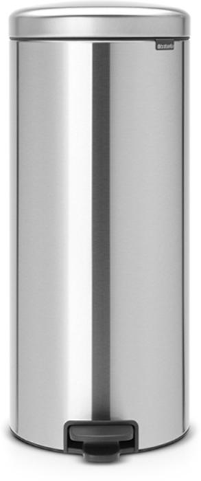 Мусорный бак с педалью Brabantia NewIcon, 30 л. 114786114786Этот высокий вместительный бак с педалью на 30 литров – превосходное решение для большой семьи. Бесшумный – плавное закрывание крышки и необыкновенно мягкий ход педали. Не пропускает запах – плотно прилегающая крышка. Устойчивый – специальное устройство, предотвращающее опрокидывание бака. Не повреждает пол – нескользящее основание. Удобная очистка –съемное внутреннее металлическое ведро. Бак удобно перемещать – специальная ручка в блоке крепления крышки. Всегда опрятный вид – в комплекте идеально подходящие по размеру мешки для мусора PerfectFit (размер D). Сертификат соответствия концепции регенерации Cradle to Cradle. Изготовлен на 40% из переработанных материалов, подлежит вторичной переработке вместе с упаковкойна 98%. 10 лет гарантии и сервисное обслуживание. Brabantia c заботой о вашем доме и планете. Добрые дела сегодня – залог счастливого завтра. Мусорные баки с педалью newIcon не только безупречно красивы, они еще и надежные...