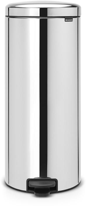 Мусорный бак с педалью Brabantia NewIcon, 30 л. 114762114762Этот высокий вместительный бак с педалью на 30 литров – превосходное решение для большой семьи. Бесшумный – плавное закрывание крышки и необыкновенно мягкий ход педали. Не пропускает запах – плотно прилегающая крышка. Устойчивый – специальное устройство, предотвращающее опрокидывание бака. Не повреждает пол – нескользящее основание. Удобная очистка –съемное внутреннее металлическое ведро. Бак удобно перемещать – специальная ручка в блоке крепления крышки. Всегда опрятный вид – в комплекте идеально подходящие по размеру мешки для мусора PerfectFit (размер D). Сертификат соответствия концепции регенерации Cradle to Cradle. Изготовлен на 40% из переработанных материалов, подлежит вторичной переработке вместе с упаковкойна 98%. 10 лет гарантии и сервисное обслуживание. Brabantia c заботой о вашем доме и планете. Добрые дела сегодня – залог счастливого завтра. Мусорные баки с педалью newIcon не только безупречно красивы, они еще и надежные...