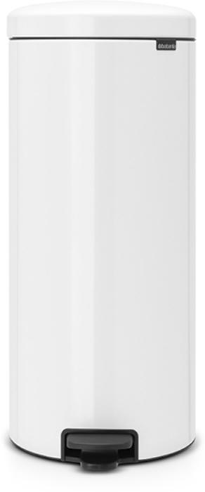 Мусорный бак с педалью Brabantia NewIcon, 30 л. 114748114748Этот высокий вместительный бак с педалью на 30 литров – превосходное решение для большой семьи. Бесшумный – плавное закрывание крышки и необыкновенно мягкий ход педали. Не пропускает запах – плотно прилегающая крышка. Устойчивый – специальное устройство, предотвращающее опрокидывание бака. Не повреждает пол – нескользящее основание. Удобная очистка –съемное внутреннее металлическое ведро. Бак удобно перемещать – специальная ручка в блоке крепления крышки. Всегда опрятный вид – в комплекте идеально подходящие по размеру мешки для мусора PerfectFit (размер D). Сертификат соответствия концепции регенерации Cradle to Cradle. Изготовлен на 40% из переработанных материалов, подлежит вторичной переработке вместе с упаковкойна 98%. 10 лет гарантии и сервисное обслуживание. Brabantia c заботой о вашем доме и планете. Добрые дела сегодня – залог счастливого завтра. Мусорные баки с педалью newIcon не только безупречно красивы, они еще и надежные...