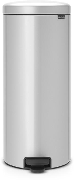 Мусорный бак с педалью Brabantia NewIcon, 30 л. 114465790009Этот высокий вместительный бак с педалью на 30 литров – превосходное решение для большой семьи. Бесшумный – плавное закрывание крышки и необыкновенно мягкий ход педали.Не пропускает запах – плотно прилегающая крышка.Устойчивый – специальное устройство, предотвращающее опрокидывание бака.Не повреждает пол – нескользящее основание.Удобная очистка –съемное внутреннее пластиковое ведро.Бак удобно перемещать – специальная ручка в блоке крепления крышки.Всегда опрятный вид – в комплекте идеально подходящие по размеру мешки для мусора PerfectFit (размер D). Сертификат соответствия концепции регенерации Cradle to Cradle.Изготовлен на 40% из переработанных материалов, подлежит вторичной переработке вместе с упаковкойна 98%. 10 лет гарантии и сервисное обслуживание.Brabantia c заботой о вашем доме и планете. Добрые дела сегодня – залог счастливого завтра. Мусорные баки с педалью newIcon не только безупречно красивы, они еще и надежные работники! Покупая этот бак, вы вносите вклад в крупнейший проект по очистке мирового океана от пластикового мусора, реализуемый организацией Ocean Cleanup. При продаже каждого бака Brabantia осуществляет благотворительный вклад в проект. Разве это не здорово?