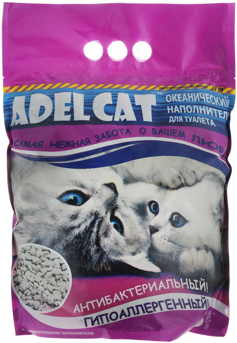 """Наполнитель для кошачьего туалета """"Adel Cat"""", океанический, 5 л 990175"""