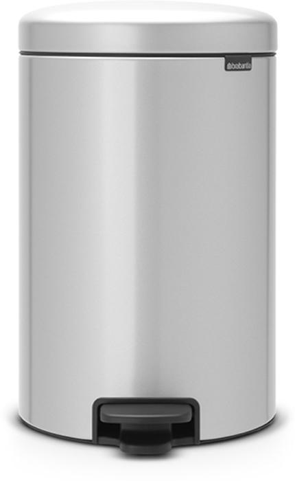 Мусорный бак с педалью Brabantia NewIcon, 20 л. 114069114069Этот 20-литровый бак с педалью – отличное решение для кухни или гостиной: большое загрузочное отверстие позволяет аккуратно собирать мусор, не просыпая на пол. Бесшумный – плавное закрывание крышки и необыкновенно мягкий ход педали. Не пропускает запах – плотно прилегающая крышка. Устойчивый – специальное устройство, предотвращающее опрокидывание бака. Не повреждает пол – нескользящее основание. Удобная очистка –съемное внутреннее пластиковое ведро. Бак удобно перемещать – специальная ручка в блоке крепления крышки. Всегда опрятный вид – в комплекте идеально подходящие по размеру мешки для мусора PerfectFit (размер D). Сертификат соответствия концепции регенерации Cradle to Cradle. Изготовлен на 40% из переработанных материалов, подлежит вторичной переработке вместе с упаковкойна 98%. 10 лет гарантии. Brabantia c заботой о вашем доме и планете. Добрые дела сегодня – залог счастливого завтра. Мусорные баки с педалью newIcon не только...