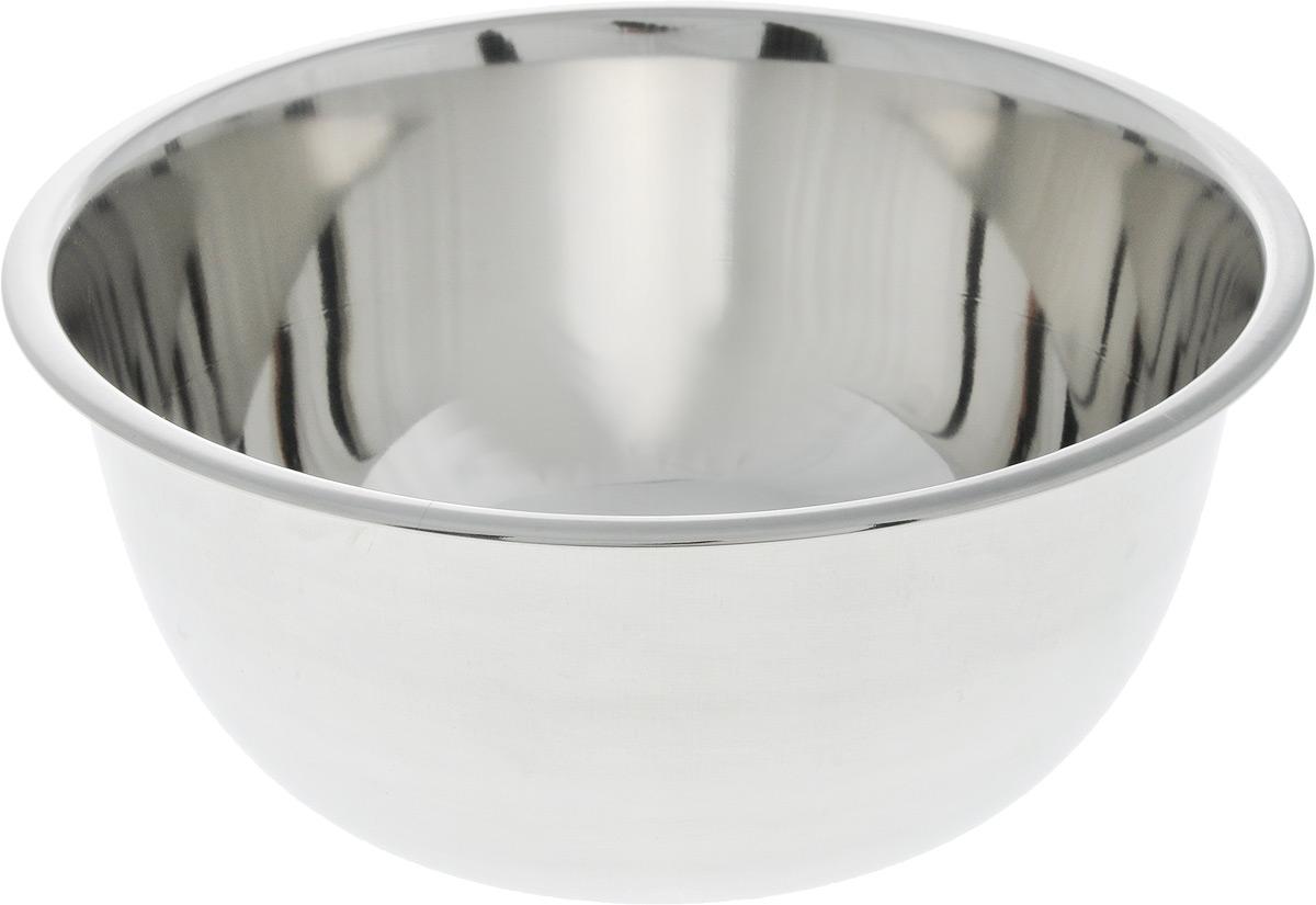 Миска SSW, диаметр 20 см465120Миска SSW выполнена из высококачественной нержавеющей стали. С наружной стороны изделие имеет матовую поверхность, а с внутренней - зеркальную. Миска отлично подойдет для взбивания яиц, смешивания различных ингредиентов. Диаметр миски (по верхнему краю): 20 см. Высота стенки миски: 9,2 см.