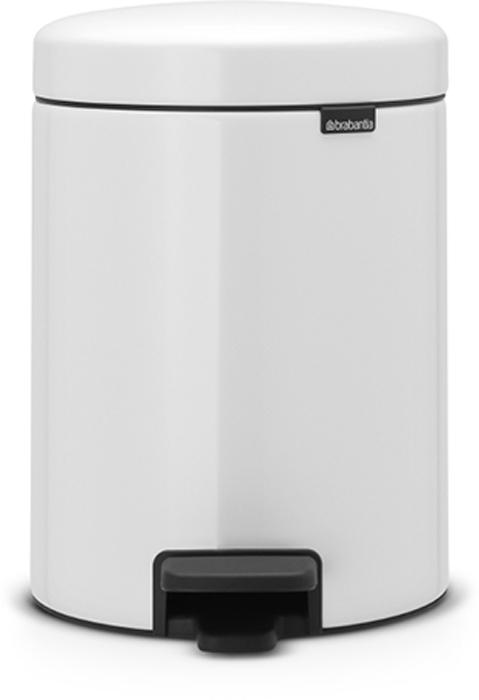 Мусорный бак с педалью Brabantia NewIcon, 5 л. 11340610503Этот 5-литровый бак с педалью идеально подходит для ванной, туалета или детской комнаты.Бесшумный – плавное закрывание крышки и необыкновенно мягкий ход педали.Не пропускает запах – плотно прилегающая крышка.Устойчивый – специальное устройство, предотвращающее опрокидывание бака.Не повреждает пол – нескользящее основание.Удобная очистка – съемное внутреннее металлическое ведро.Всегда опрятный вид – в комплекте идеально подходящие по размеру мешки для мусора PerfectFit (размер В). Сертификат соответствия концепции регенерации Cradle to Cradle.Изготовлен на 40% из переработанных материалов, подлежит вторичной переработке вместе с упаковкойна 98%. 10 лет гарантии.Brabantia c заботой о вашем доме и планете. Добрые дела сегодня – залог счастливого завтра. Мусорные баки с педалью newIcon не только безупречно красивы, они еще и надежные работники! Покупая этот бак, вы вносите вклад в крупнейший проект по очистке мирового океана от пластикового мусора, реализуемый организацией Ocean Cleanup. При продаже каждого бака Brabantia осуществляет благотворительный вклад в проект. Разве это не здорово?