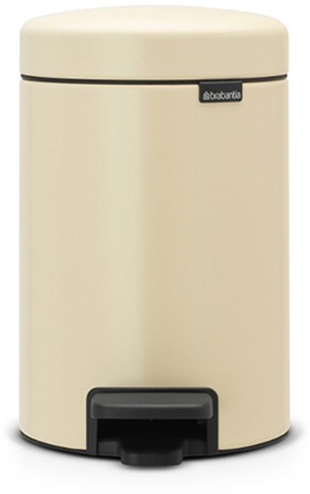 Мусорный бак с педалью Brabantia NewIcon, 3 л. 113000113000Этот небольшой изящный бак на 3 литра гарантирует большое преображение вашего самого маленького помещения в доме! Бесшумный – плавное закрывание крышки и необыкновенно мягкий ход педали. Не пропускает запах – плотно прилегающая крышка. Устойчивый – специальное устройство, предотвращающее опрокидывание бака. Не повреждает пол – нескользящее основание. Удобная очистка –съемное внутреннее пластиковое ведро. Всегда опрятный вид – в комплекте идеально подходящиепо размеру мешки для мусора PerfectFit (размер A). Изготовлен на 40% из переработанных материалов, подлежит вторичной переработке вместе с упаковкой на 98%. 10 лет гарантии. Сертификат соответствия концепции регенерации Cradle to Cradle. Brabantia c заботой о вашем доме и планете. Добрые дела сегодня – залог счастливого завтра. Мусорные баки с педалью newIcon не только безупречно красивы, они еще и надежные работники! Покупая этот бак, вы вносите вклад в крупнейший проект по очистке мирового...