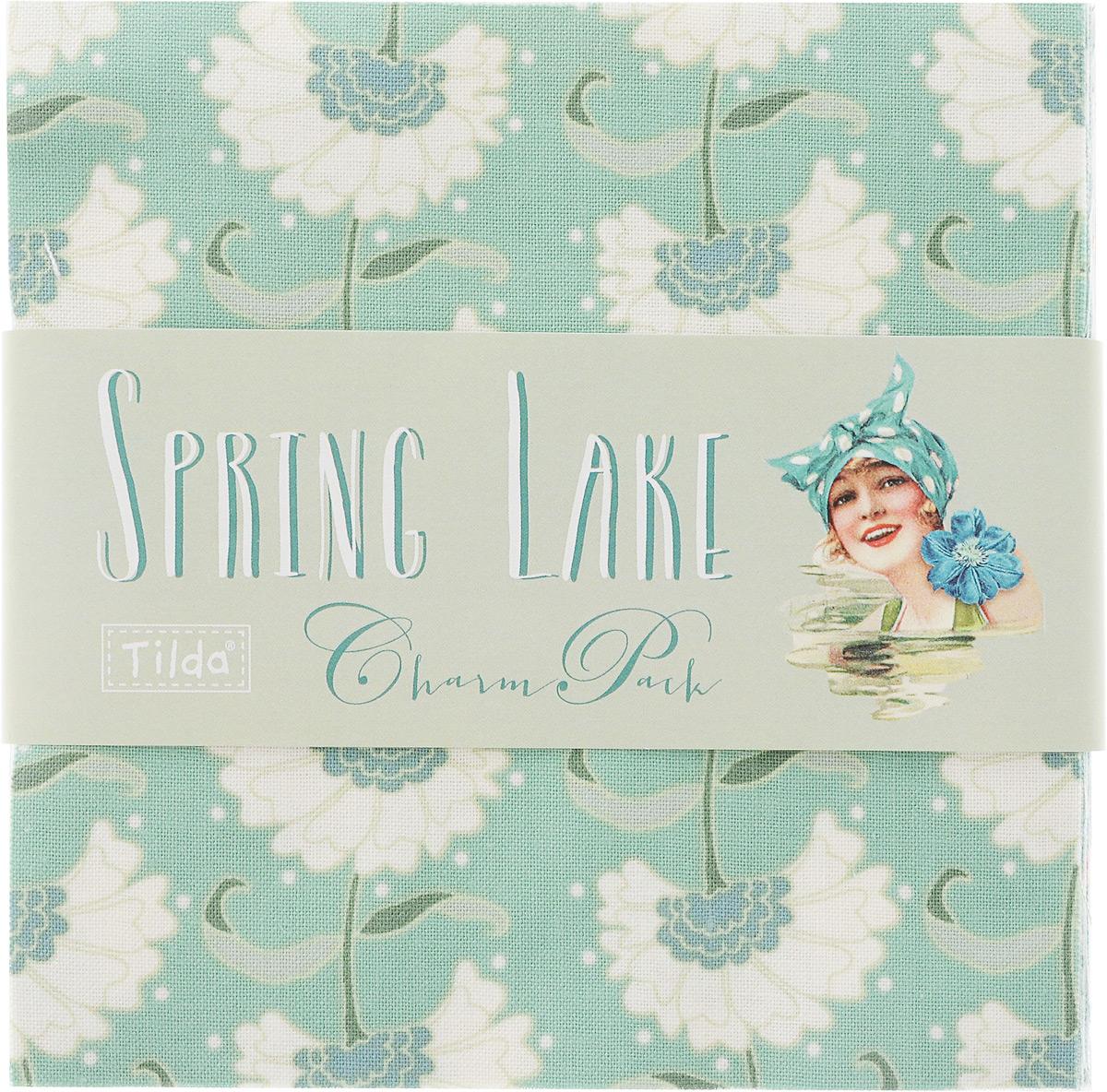 Набор отрезов ткани Tilda Spring Lake, 12,5 х 12,5 см, 42 шт210480822Набор Tilda Spring Lake состоит из 42 отрезов ткани - по 2 штуки каждого дизайна, выполненных из 100% натурального хлопка. Такие отрезы ткани прекрасно подойдут для декора и оформления творческих работ в различных техниках, таких как скрапбукинг, шитье, декор, изготовление бижутерии, бантиков. Ткань разнообразит вашу работу и добавит вдохновения для новых идей. Размер отреза: 12,5 х 12,5 см.