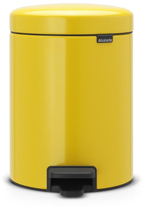 Мусорный бак с педалью Brabantia NewIcon, 5 л. 112522112522Этот 5-литровый бак с педалью идеально подходит для ванной, туалета или детской комнаты. Бесшумный – плавное закрывание крышки и необыкновенно мягкий ход педали. Не пропускает запах – плотно прилегающая крышка. Устойчивый – специальное устройство, предотвращающее опрокидывание бака. Не повреждает пол – нескользящее основание. Удобная очистка – съемное внутреннее пластиковое ведро. Всегда опрятный вид – в комплекте идеально подходящие по размеру мешки для мусора PerfectFit (размер В). Сертификат соответствия концепции регенерации Cradle to Cradle. Изготовлен на 40% из переработанных материалов, подлежит вторичной переработке вместе с упаковкойна 98%. 10 лет гарантии. Brabantia c заботой о вашем доме и планете. Добрые дела сегодня – залог счастливого завтра. Мусорные баки с педалью newIcon не только безупречно красивы, они еще и надежные работники! Покупая этот бак, вы вносите вклад в крупнейший проект по очистке мирового океана от пластикового...