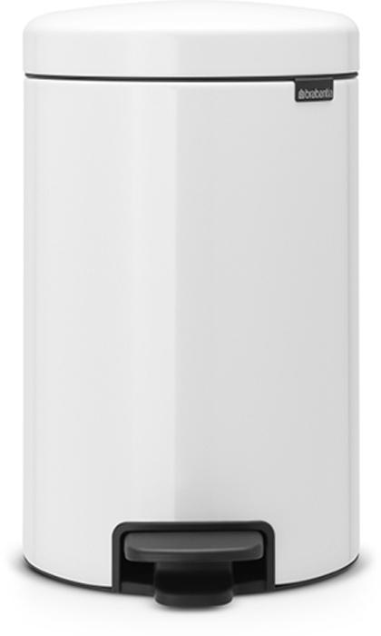 Мусорный бак с педалью Brabantia NewIcon, 12 л. 11196910503Этот 12-литровый бак с педалью достаточно вместителен и при этом достаточно компактен для размещения под рабочим столом – отличное решение для кухни или гостиной. Бесшумный – плавное закрывание крышки и необыкновенно мягкий ход педали.Не пропускает запах – плотно прилегающая крышка.Устойчивый – специальное устройство, предотвращающее опрокидывание бака.Не повреждает пол – нескользящее основание.Удобная очистка –съемное внутреннее пластиковое ведро.Бак удобно перемещать – специальная ручка в блоке крепления крышки.Всегда опрятный вид – в комплекте идеально подходящие по размеру мешки для мусора PerfectFit (размер C). Сертификат соответствия концепции регенерации Cradle to Cradle.Изготовлен на 40% из переработанных материалов, подлежит вторичной переработке вместе с упаковкойна 98%. 10 лет гарантии.Brabantia c заботой о вашем доме и планете. Добрые дела сегодня – залог счастливого завтра. Мусорные баки с педалью newIcon не только безупречно красивы, они еще и надежные работники! Покупая этот бак, вы вносите вклад в крупнейший проект по очистке мирового океана от пластикового мусора, реализуемый организацией Ocean Cleanup. При продаже каждого бака Brabantia осуществляет благотворительный вклад в проект. Разве это не здорово?